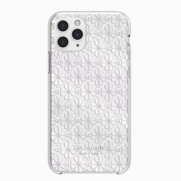 Kate Spade IPhone 11 Pro Spade Flower Foil Case